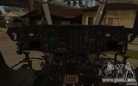 CH 53 para GTA San Andreas left
