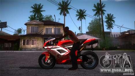Ducati 1098 para GTA San Andreas left