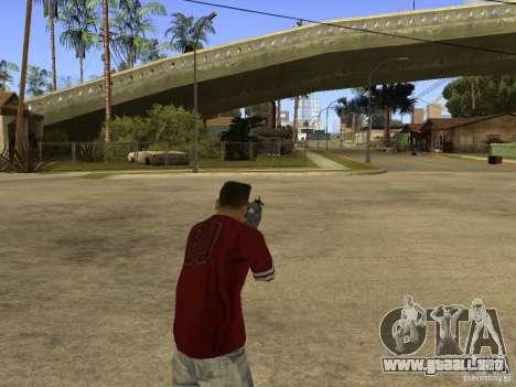 M4 Arma para GTA San Andreas sucesivamente de pantalla