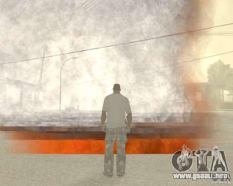 Tornado para GTA San Andreas segunda pantalla
