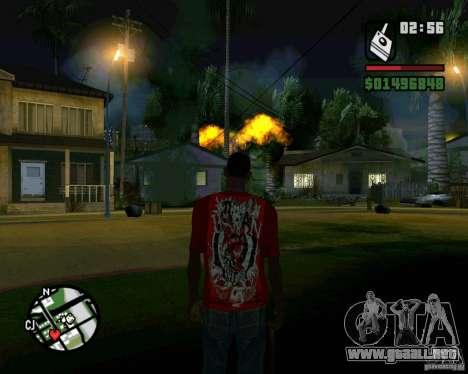 Bomba para GTA San Andreas tercera pantalla