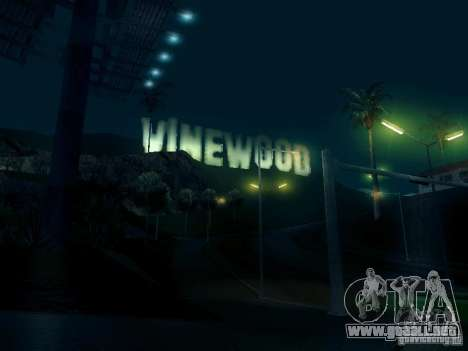 ENBSeries v1 para GTA San Andreas octavo de pantalla