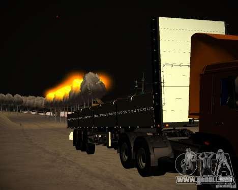 Kogel a bordo para GTA San Andreas vista hacia atrás