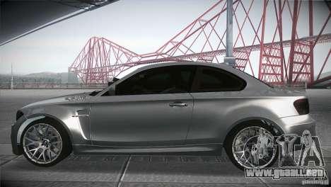 BMW 1M E82 Coupe 2011 V1.0 para GTA San Andreas left