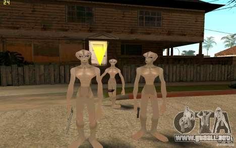 Recién llegados de GROVE para GTA San Andreas tercera pantalla