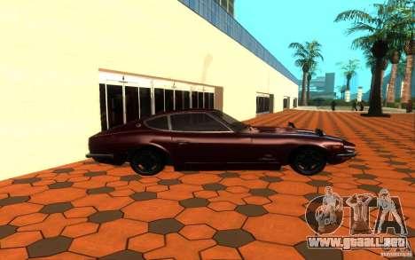 Nissan Fairlady Z 432 para GTA San Andreas left