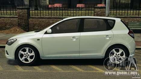 Kia Ceed 2011 para GTA 4 left