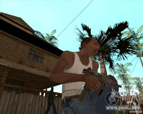 CoD:MW2 weapon pack para GTA San Andreas tercera pantalla