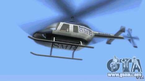 SubtopiCo SMB Maverick para GTA Vice City vista posterior