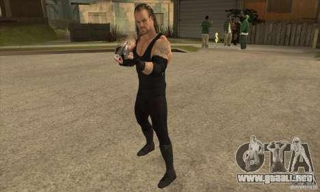El empresario de pompas fúnebres de Smackdown 2 para GTA San Andreas segunda pantalla