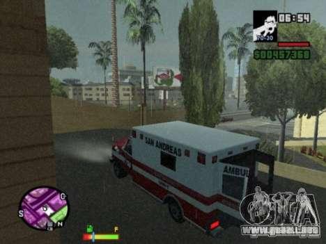 Auto-Repair para GTA San Andreas tercera pantalla