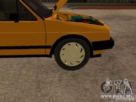 Volkswagen Jetta para visión interna GTA San Andreas