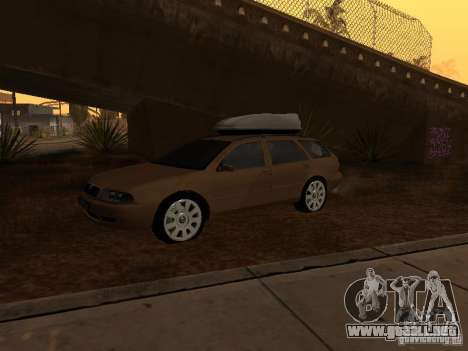 Skoda Octavia para GTA San Andreas left