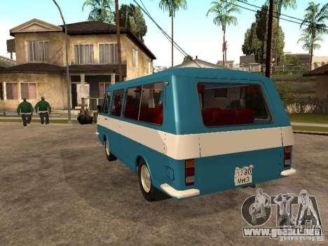 RAPH 2912 para GTA San Andreas vista posterior izquierda