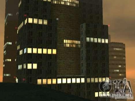 Nuevos rascacielos de texturas LS para GTA San Andreas sucesivamente de pantalla