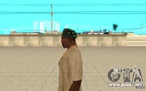 Bandana xbox para GTA San Andreas segunda pantalla