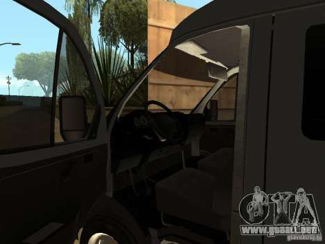 Empresas gacela 2705 para visión interna GTA San Andreas
