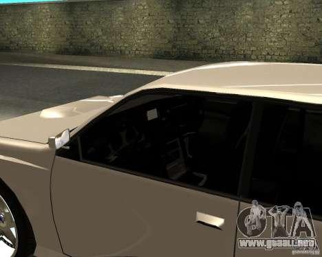 Azik Sultan para GTA San Andreas vista posterior izquierda