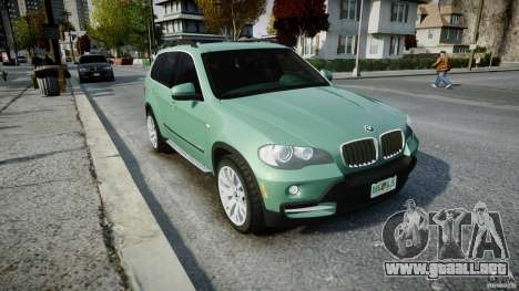 BMW X5 Experience Version 2009 Wheels 223M para GTA 4 vista interior