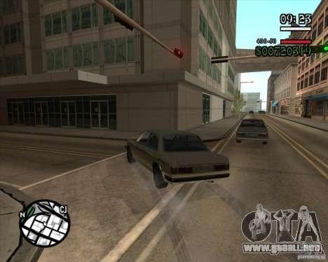 Nueva dirección pragmática para GTA San Andreas quinta pantalla