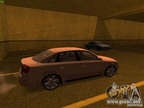 Audi S4 OEM para GTA San Andreas left