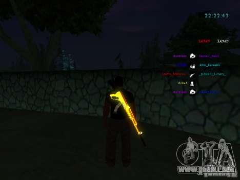 Nuevos skins La Coza Nostry para GTA: SA para GTA San Andreas sexta pantalla