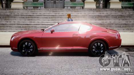 Bentley Continental GT 2004 para GTA 4 left
