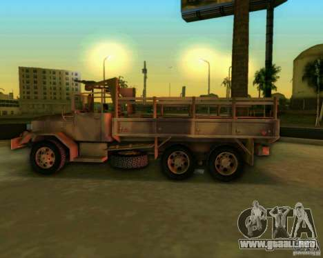 M352A para GTA Vice City vista posterior