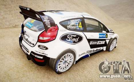 Ford Fiesta RS WRC para GTA 4 left