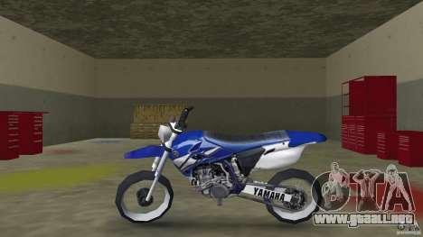Yamaha YZ450F para GTA Vice City left