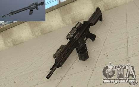Rifle HK416 para GTA San Andreas