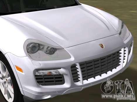 Porsche Cayenne Turbo S para GTA Vice City visión correcta