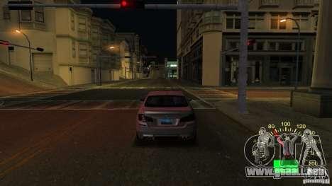 Velocímetro de Lada 2110 para GTA San Andreas segunda pantalla