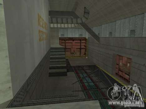 Zona abierta 69 para GTA San Andreas quinta pantalla