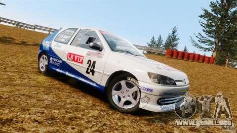 Peugeot 306 Gr. N Rally para GTA 4 left