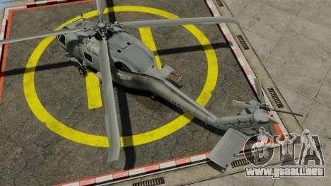 El helicóptero del Sikorsky SH-60 Seahawk para GTA 4 visión correcta