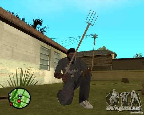 Tridente para GTA San Andreas