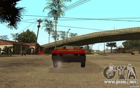 Moskvich 2141 Cabriolet para la visión correcta GTA San Andreas