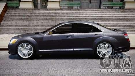Mercedes-Benz S-Class W221 BRABUS SV12 para GTA 4 left