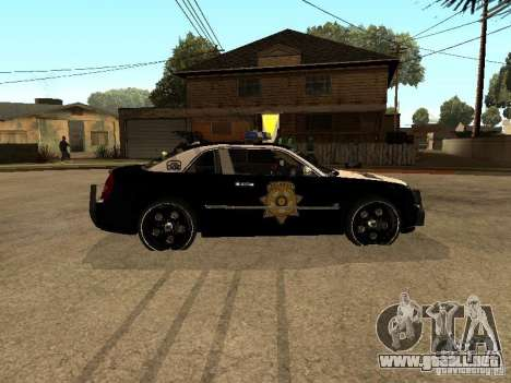 Chrysler 300C Police para GTA San Andreas left