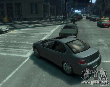 Dodge Neon 02 SRT4 para GTA 4 left