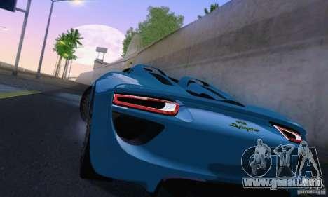 ENBSeries by dyu6 v6.0 para GTA San Andreas sucesivamente de pantalla