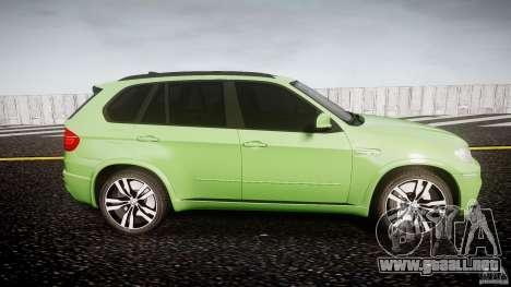 BMW X5 M-Power para GTA 4 vista interior