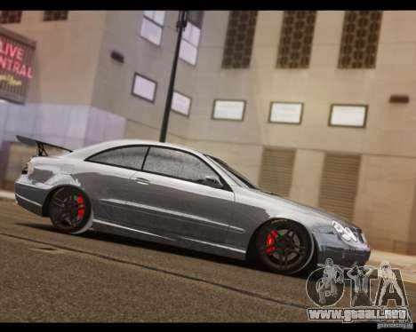 Mercedes-Benz CLK 63 AMG Black Series para GTA 4