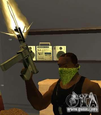 New Bandanas Style para GTA San Andreas sucesivamente de pantalla