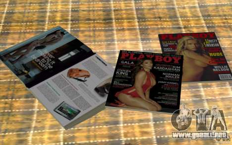Playboy Magazines para GTA San Andreas