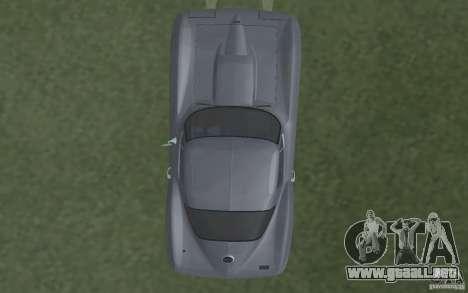 Chevrolet Corvette 427 para visión interna GTA San Andreas