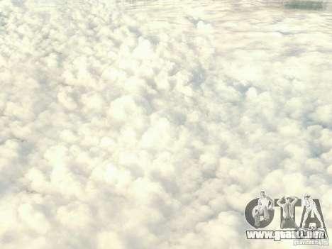 Nube de HD para GTA San Andreas