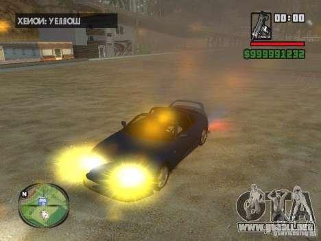 Xenon v3.0 para GTA San Andreas sucesivamente de pantalla