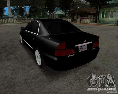 Mitsubishi Diamante para GTA San Andreas vista posterior izquierda